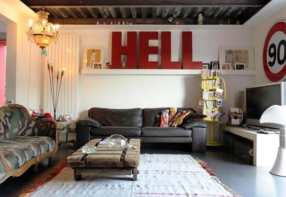As Pessoas Na Sala De Jantar Letra ~ Letras na decoração  utilizablog